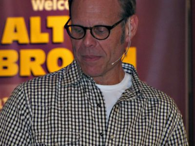 Alton Brown Book Signing, Austin, Texas