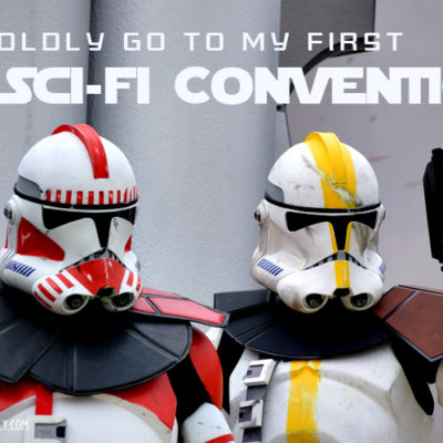 To Boldly Go to a Sci-Fi Convention