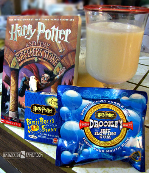 8 Tips to introduce kids to Harry Potter ( or any other series ) fun and exciting. BONUS - DIY Butterbeer recipe included