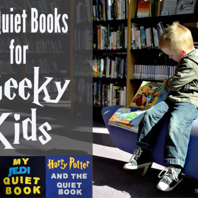 DIY Quiet Book Ideas for Geeky Kids