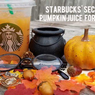 Starbucks' Secret Pumpkin Juice Formula