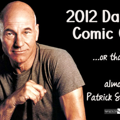 How I almost met Patrick Stewart at Comic Con
