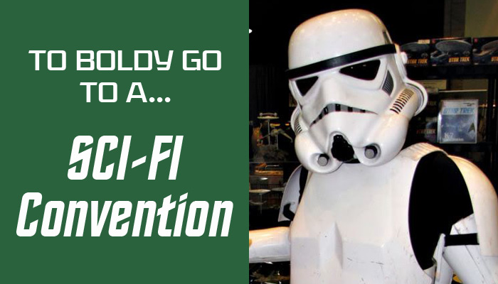 Are you afraid to go to a sci-fi convention (Comic-Con, Fandays, Dragon Con) because you are afraid they will be too geeky or you won't fit in? Never fear, Mom, they are fun, exciting for the kids, and you'll have a blast!