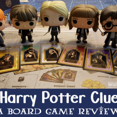 Harry Potter Clue Board Game Review