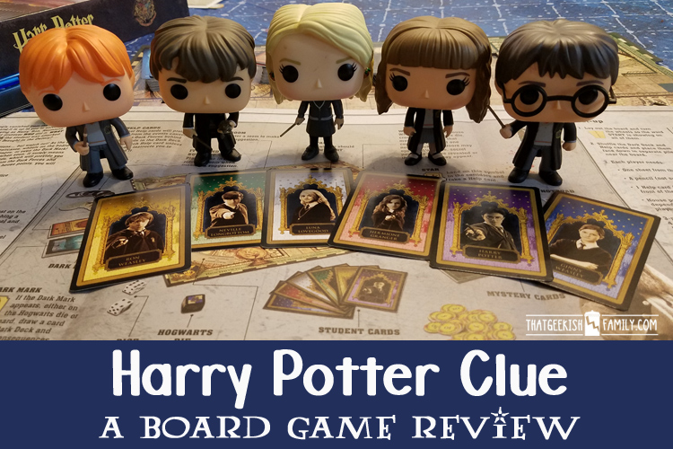 Every Potterhead who loves playing board games needs to get the Harry Potter Clue Board Game! Play to save your favorite character from the Dementors!