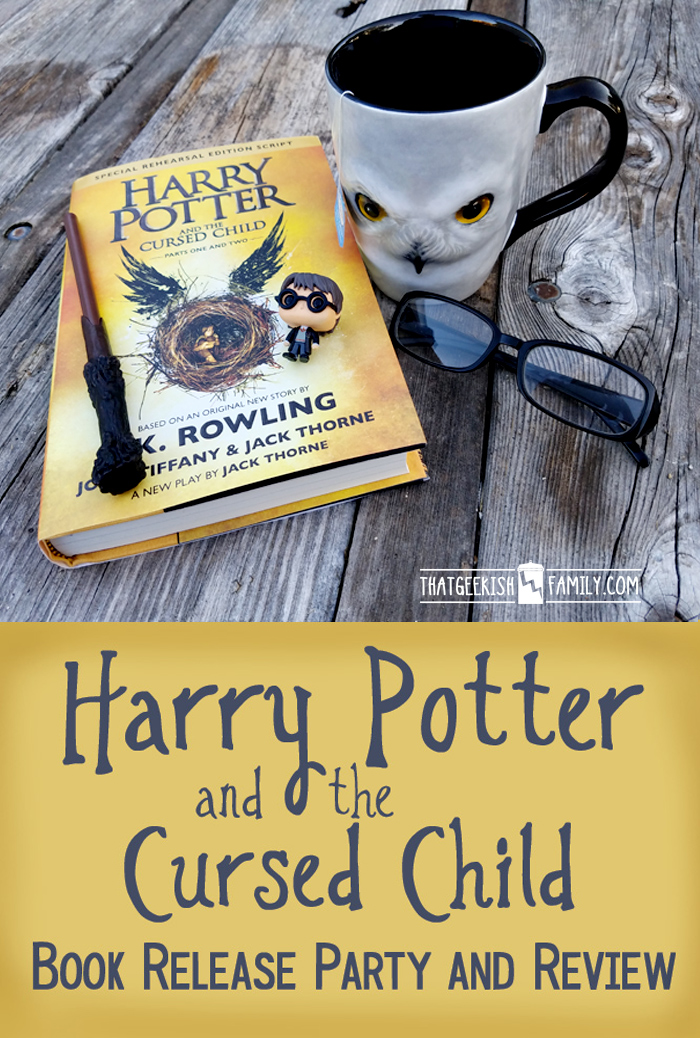Have you been putting off reading Harry Potter and the Cursed Child? I've reviewed it for you (warning, there are some mild spoilers)! Plus I highlight the Book Release Party at B&N!