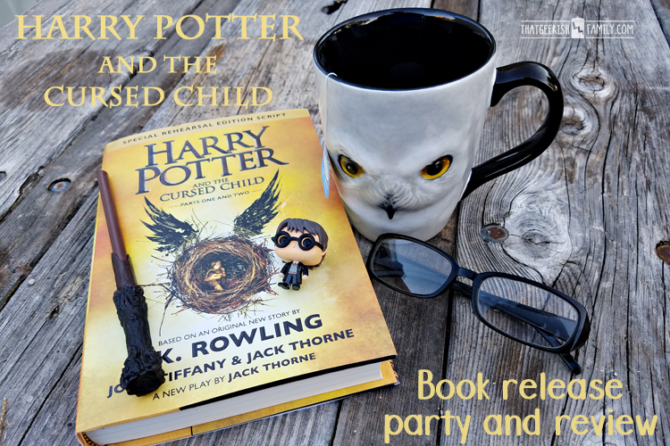 Want a spoiler free review of Harry Potter and the Cursed Child? I've got one for you! Plus I highlight the Book Release Party at B&N!