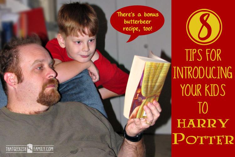 Introducing Kids to Harry Potter – DIY Butterbeer Recipe