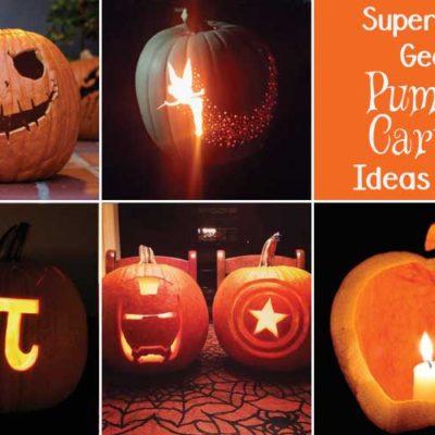 Easy DIY Geeky Pumpkin Carving Ideas