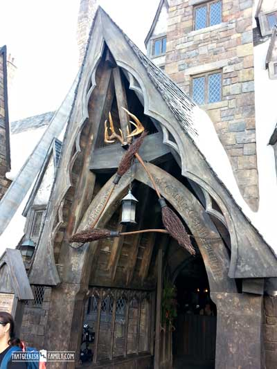 The Three Broomsticks for Harry Potter Beverages: Our first visit to Universal Orlando and Wizarding World of Harry Potter - come check it out for details on vacation planning and having fun!