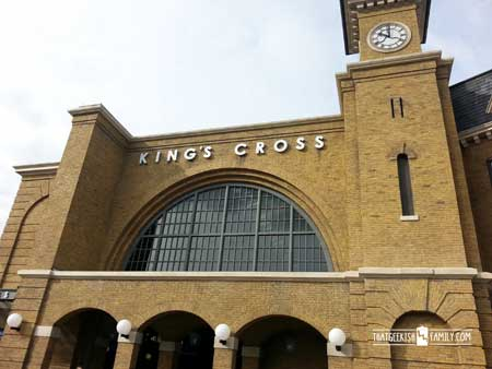 Kings Cross Station, London: Our first visit to Universal Orlando and Wizarding World of Harry Potter - come check it out for details on vacation planning and having fun!