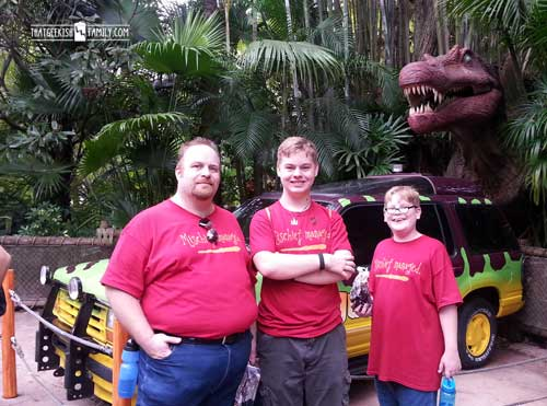 Jurrasic Park: Men in Black: Our first visit to Universal Orlando and Wizarding World of Harry Potter - come check it out for details on vacation planning and having fun!