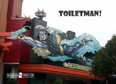 Aquaman's Identical Cousin - Toiletman!: Our first visit to Universal Orlando and Wizarding World of Harry Potter - come check it out for details on vacation planning and having fun!