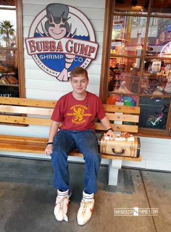 Bubba Gump Shrimp Company at City Walk Universal Orlando: Our first visit to Universal Orlando and Wizarding World of Harry Potter - come check it out for details on vacation planning and having fun!