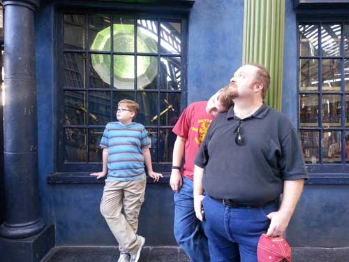 My guys: Our first visit to Universal Orlando and Wizarding World of Harry Potter - come check it out for details on vacation planning and having fun!