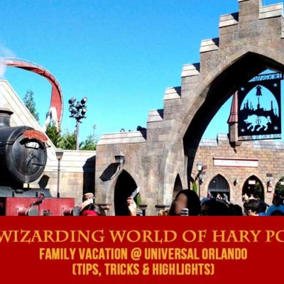 Our Wizarding World of Harry Potter Family Vacation
