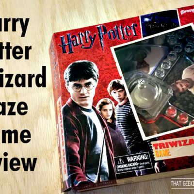 Harry Potter & Triwizard Maze Game Review & Unboxing