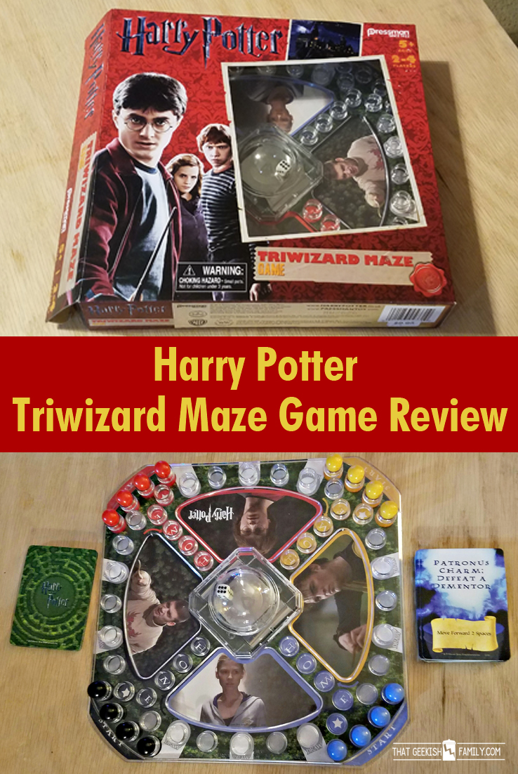 Harry Potter & Triwizard Maze Game unboxing and game review. | board games | family game night | kids games | table top games