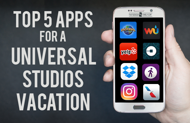 Top 5 phone apps to use for your Universal Studios / Wizarding World of Harry Potter Vacation