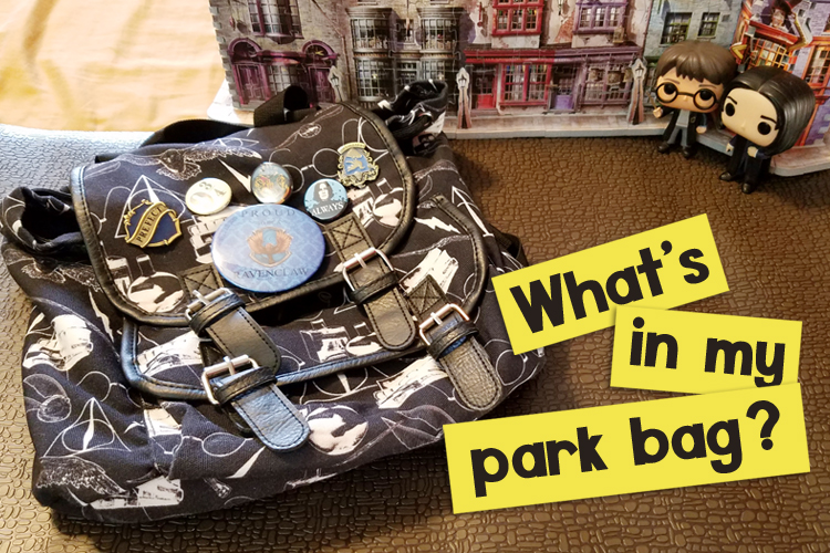 What's in my Universal Studios Park Bag
