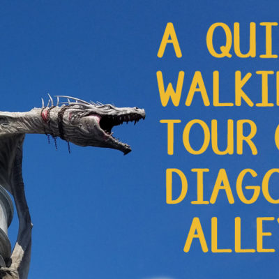 A Walking Tour of Diagon Alley @ Wizarding World of Harry Potter