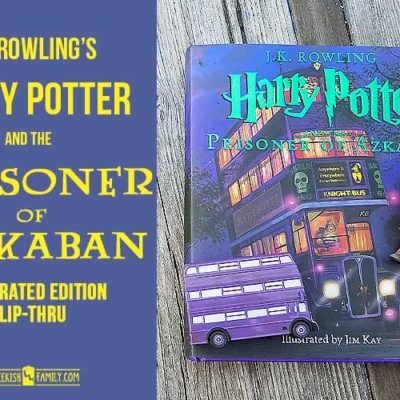 Illustrated Harry Potter and the Prisoner of Azkaban Flip-Thru
