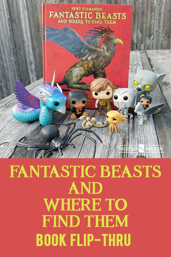 Fantastic Beasts and Where to Find them book reveal | Harry Potter | Newt Scamander