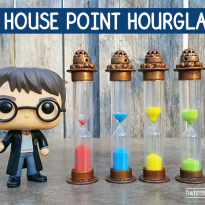 DIY Harry Potter House Point Counters